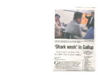 Shark Week in Gallup (Gallup Independent, January 29, 2016)