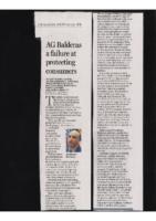 AG Balderas a failure at protecting consumers (Albuquerque Journal, August 29, 2021)